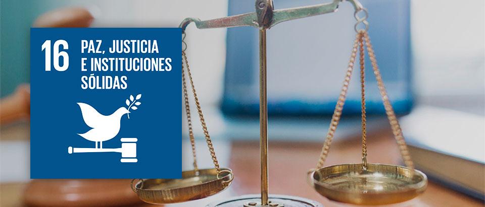 Objetivos_2030-16, Paz, justicia e instituciones sólidas