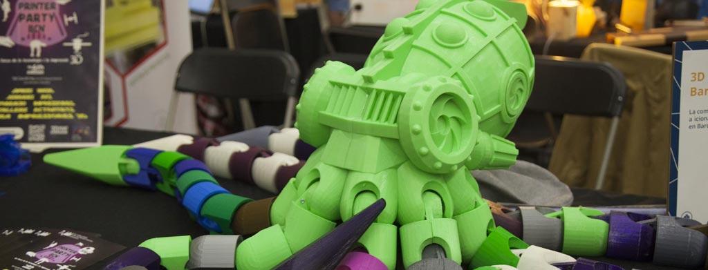 3D Print BCN, una comunidad de Impresoras 3D solidarias