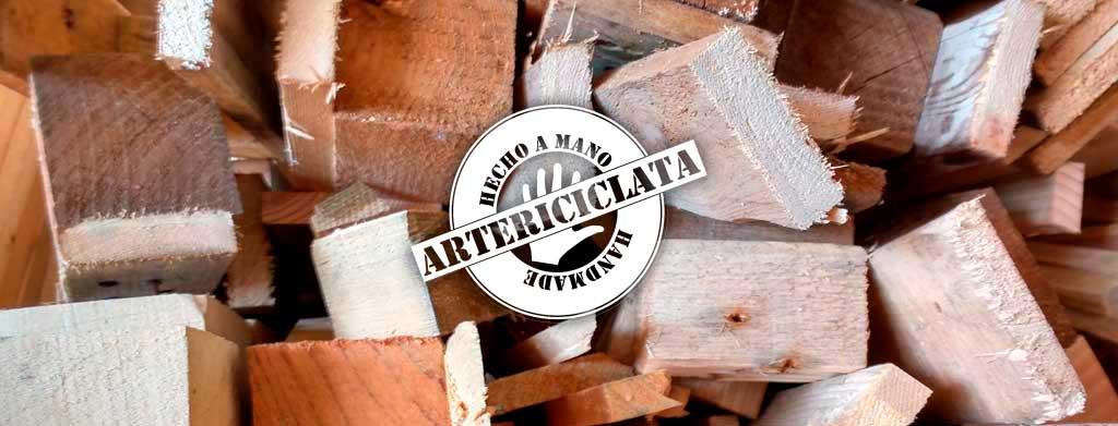 ArteRiciclata, reciclando la madera para hacerla a tu medida