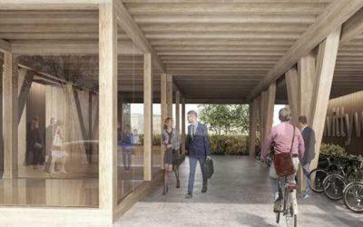 Wittywood, el primer edificio de oficinas totalmente en madera